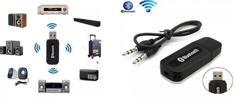 Receptor Audio Bluetooth Usb Auxiliar 3.5 Carro Android Ios