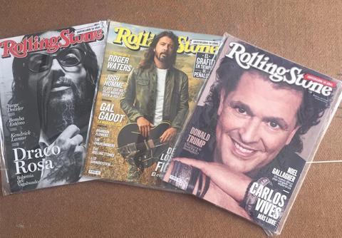 Mini Colección Revistas Rolling Stone ANIVERSARIO 50 AÑOS