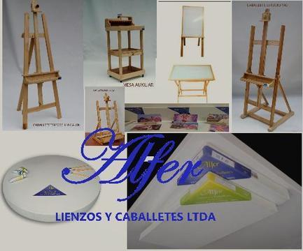FABRICA DE LIENZOS, BASTIDORES Y PINTURAS DE OLEO