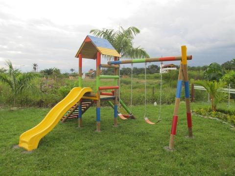 Fabrica de Parques Infantiles en madera