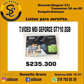 tarjeta de vídeo msi gforce gt 710 2GB