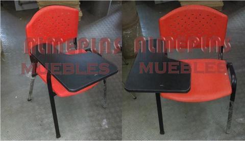 Pupitres y sillas universitarias Promocion