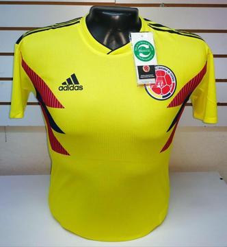 Camiseta Auténtica Selección Colombia Local