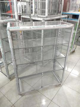 Expositor Aluminio 80cm