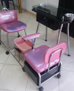 Set de sillas para arreglo de uaa