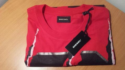 Camiseta roja Diesel original