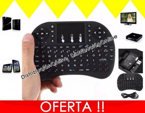 GANGA! ENVIO PAGO CONTRA ENTREGA Bogota Mini Teclado Inalambrico Recargable Airmouse para Android Smart Tv iluminado