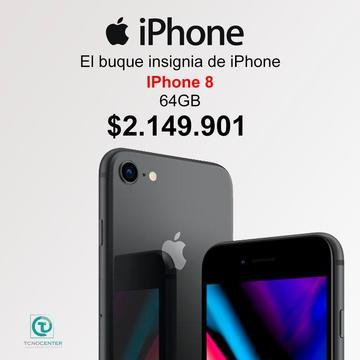 iPhone 8/X 64GB, GARANTÍA 1 AÑO DIRECTA, TIENDA FÍSICA, nuevos, sellados, libres, factura