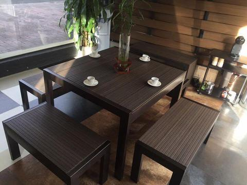 muebles para exterior en material WPC o ULTRASHIELD, SILLAS Para exterior, mesas para exterior