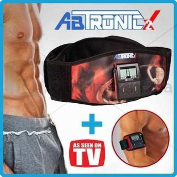 Ab Tronic X2 TV Cinturón, Faja de Tonificación, Gratis Mini Cinturón, Gel Conductor, Nuevos, Originales, Garantizados