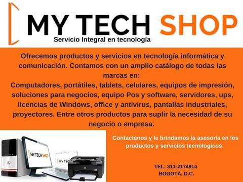 Venta de soluciones y servicios en tecnología informatica