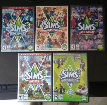 Los Sims 3 Originales 10/10 Cambio O Vendo Mac Pc