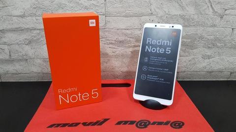 Xiaomi Redmi Note 5 nuevos con garantía factura redmi 5 plus domicilios en  gratis envios nacionales movil mania