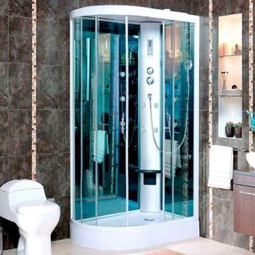 Cabina ducha tipo f con teleducha 10 hidrojets D'Acqua