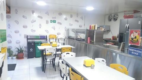 Barra para negocio de comidas rapidas brick7 venta - Pizza rapid silla ...
