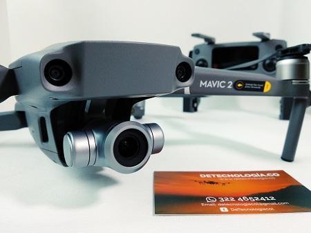 Drone Dji Mavic 2 Zoom Drone con Evasión de obstáculos 360