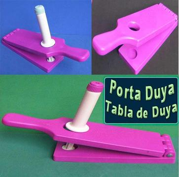 Tabla para duya en plástico porta duya utensilio de manualidades