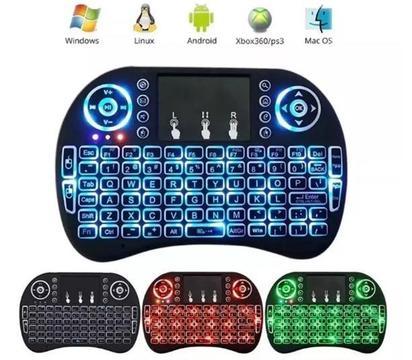 SISTECREDITO Teclado Mouse Táctil Inalámbrico Para Smart Tv Box Pc
