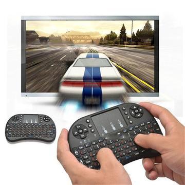 Mini Teclado Mouse Inalámbrico Smart Tv,android,pc Retroiluminado con Bateria CC Monterrey local sotano 5