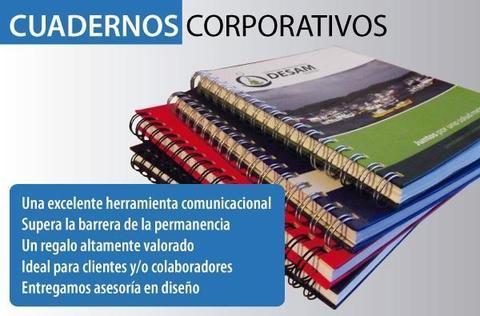 CUADERNOS ARGOLLADOS Y LIBRETAS ECOLOGICAS OBSEQUIOS PROMOCIONALES Y PUBLICITARIOS