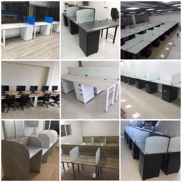 escritorios sillas y call center para oficina usados remanofacturados