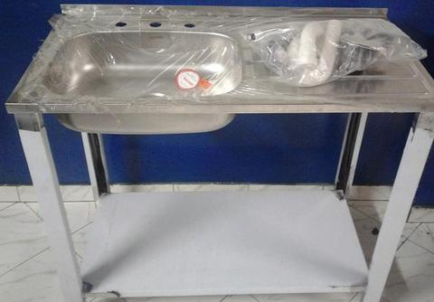 lava platos Nuevo! Totalmente en acero