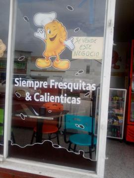 Se Vende Cafeteria en Castilla Acreditda