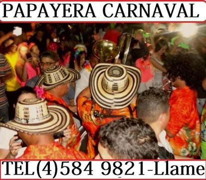 Chirimia y Papayera Carnaval La Mejor de Medellin