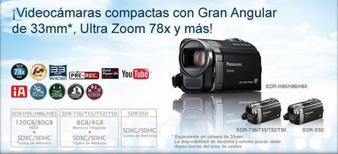 Panasonic Camara de Video SDR S50 USADA en exelentes condiciones lista para usar