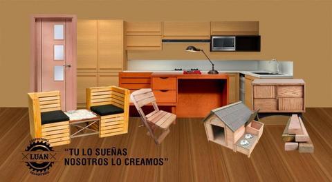Fabricación en madera de Comedores, cama, mesa, sillas, escritorio, closet, tocador, Armario, barras, espejo repisas