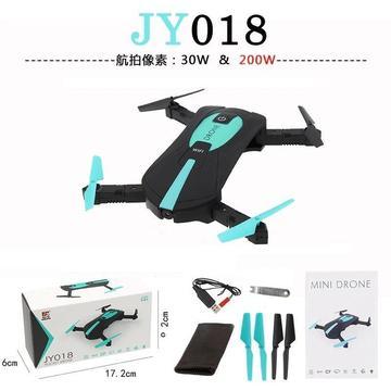 Mini Drone Camara Selfie Camara 360º Wifi 4 Plegables Jy018