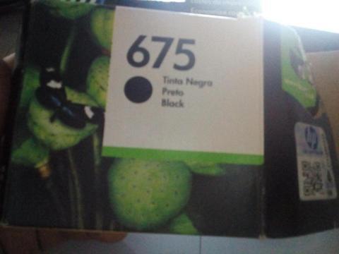 CARTUCHO TINTA NEGRA N. 675