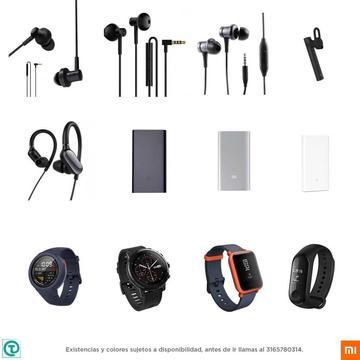 Xiaomi Accesorios, cargador, manos libres, audifonos, amazfit, visitanos, somos tienda fisica