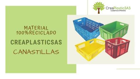Canastillas Plásticas Venta Al por Mayor