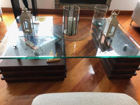 Mesa rectangular de sala
