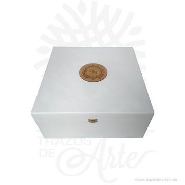 Caja estuche de 34 x 34 x 15 cm en MDF para personalizar – Precio COP