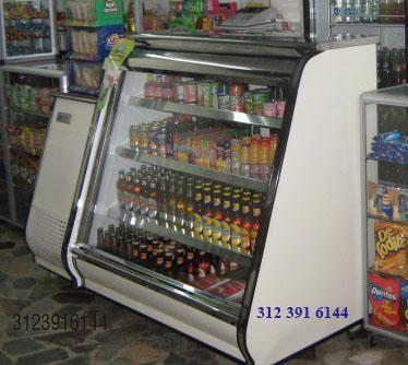 Refrigerador Mostrador Horizontal Plano Con Casillero