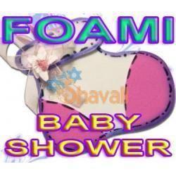 MANUALIDADES FOAMI BABY SHOWER RECUERDOS TARJETAS INVITACIONES SKU: 181