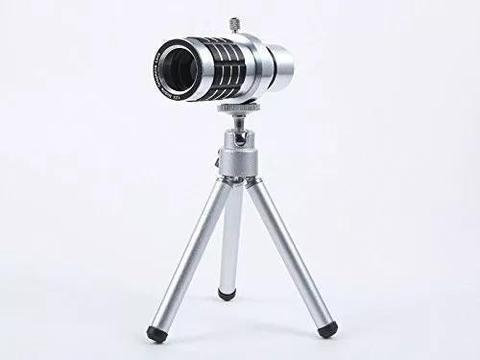 Lente Telescopio 12x Zoom Óptico Universal Para Smartphone