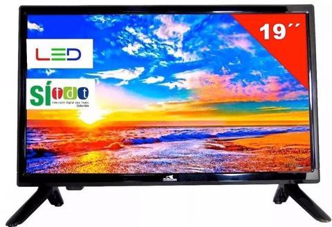 Televisor Huskee Tv 19 Pulgadas Con Tdt Monitor 110v 12v Env