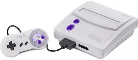 Consola Nintendo 16 Bits Super Resolucion, Cassette