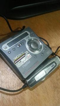 Minidisc Sony Wakman Mz G750