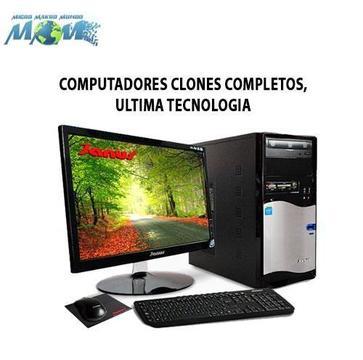 Computadores Clone, Ultima Tecnologia Desde 790.000..nuevos