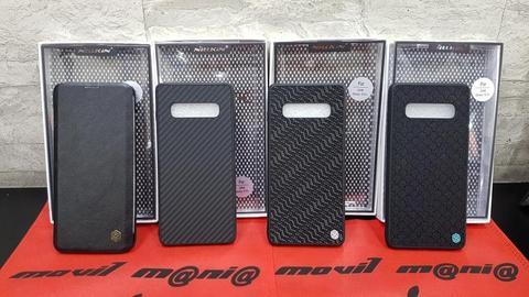 Estuche Protector Nillkin Nuevos para Samsung S10 plus Domicilios en Bogota envíos a nivel nacional Movil Mania