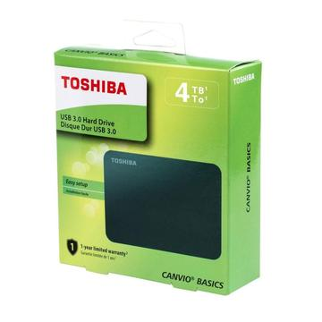 Disco Duro Externo 4TB Toshiba Canvio