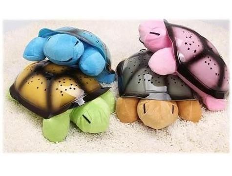 Proyector Luces Twilight Turtle Lampara Tortuga Estrellas