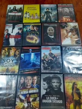 Vendo películas de DVD originales. Selladas y sin sello. Varios títulos a escoger