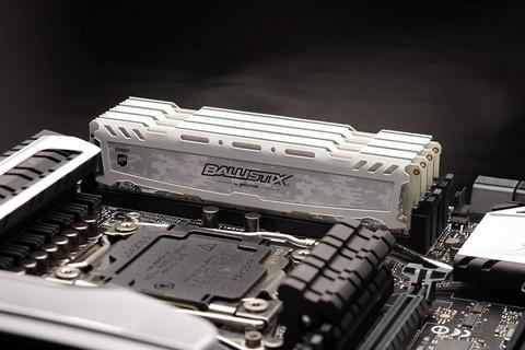Memorias RAM Crucial Ballistix 4GB y 8GB DDR4 2666 MHz