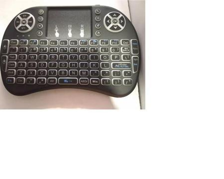 Mini Keyboard Retroiluminado Tv