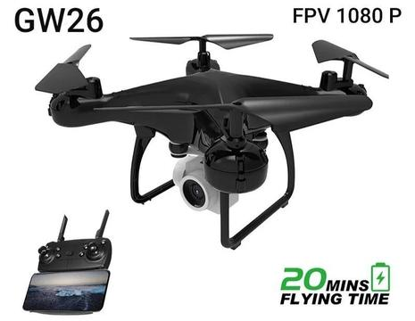 Drone Gw26 Camara Fpv 1080p Sensores 21 Minutos Estable 2019